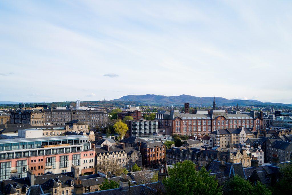 Единбург от високо, Шотландия   Peysoul