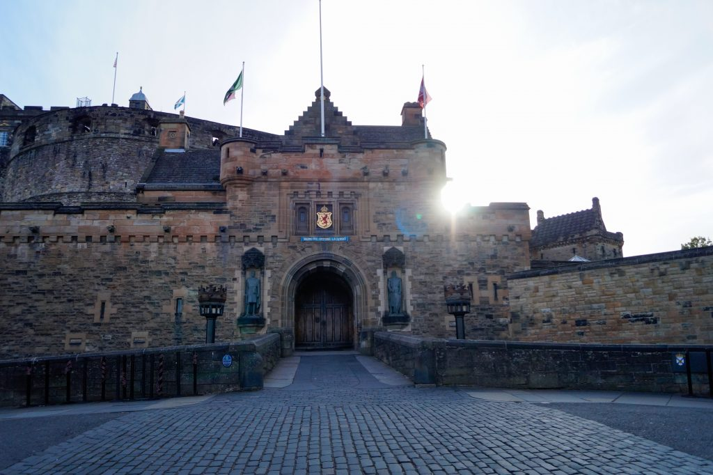 Единбургският замък   Peysoul