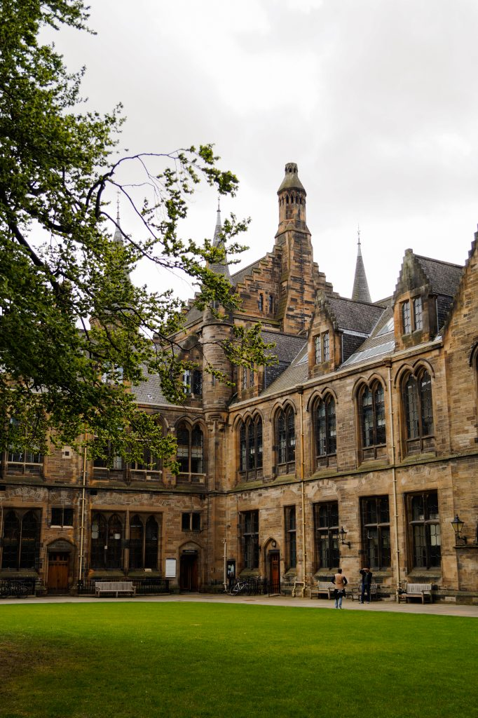 Университетът на Глазгоу. Приключението в Шотландия продължава   Peysoul