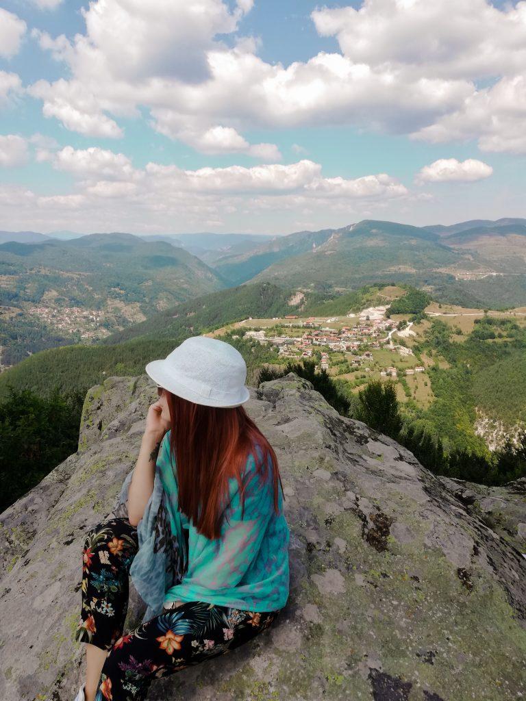 Гледка от Белинташ към околните села