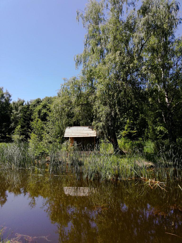 Езерото в Панагюрски колонии