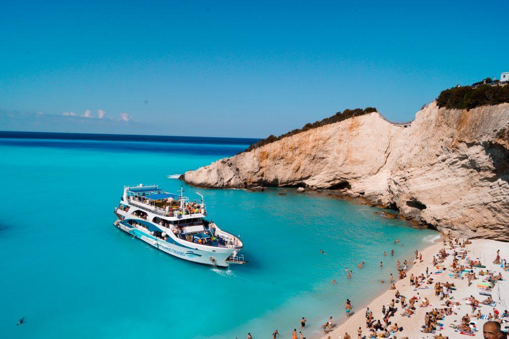 Порто Кацики, Лефкада, Йонийски острови, Гърция. Романтични места в Европа