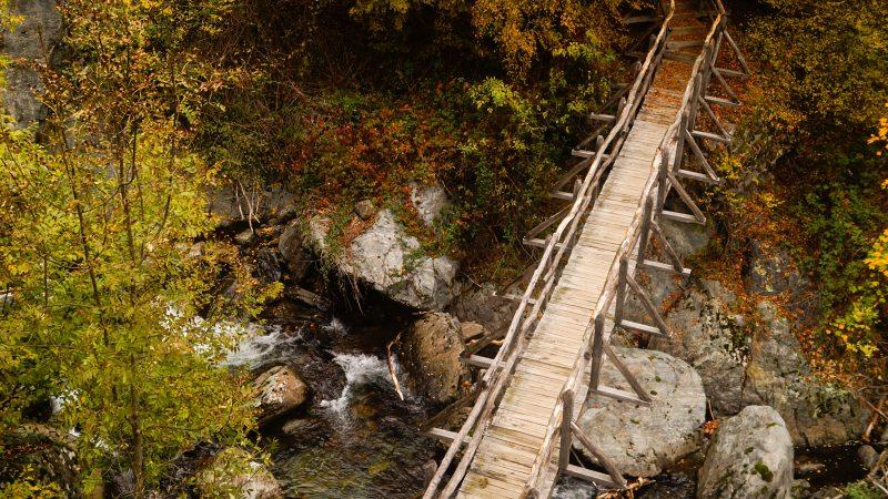 Екопътека Бяла река през есента
