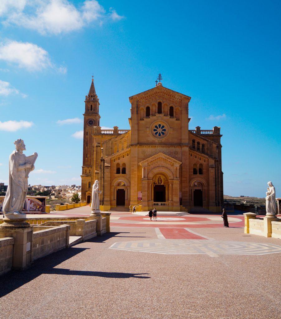 Църквата Та'Пину, Гозо, Малта