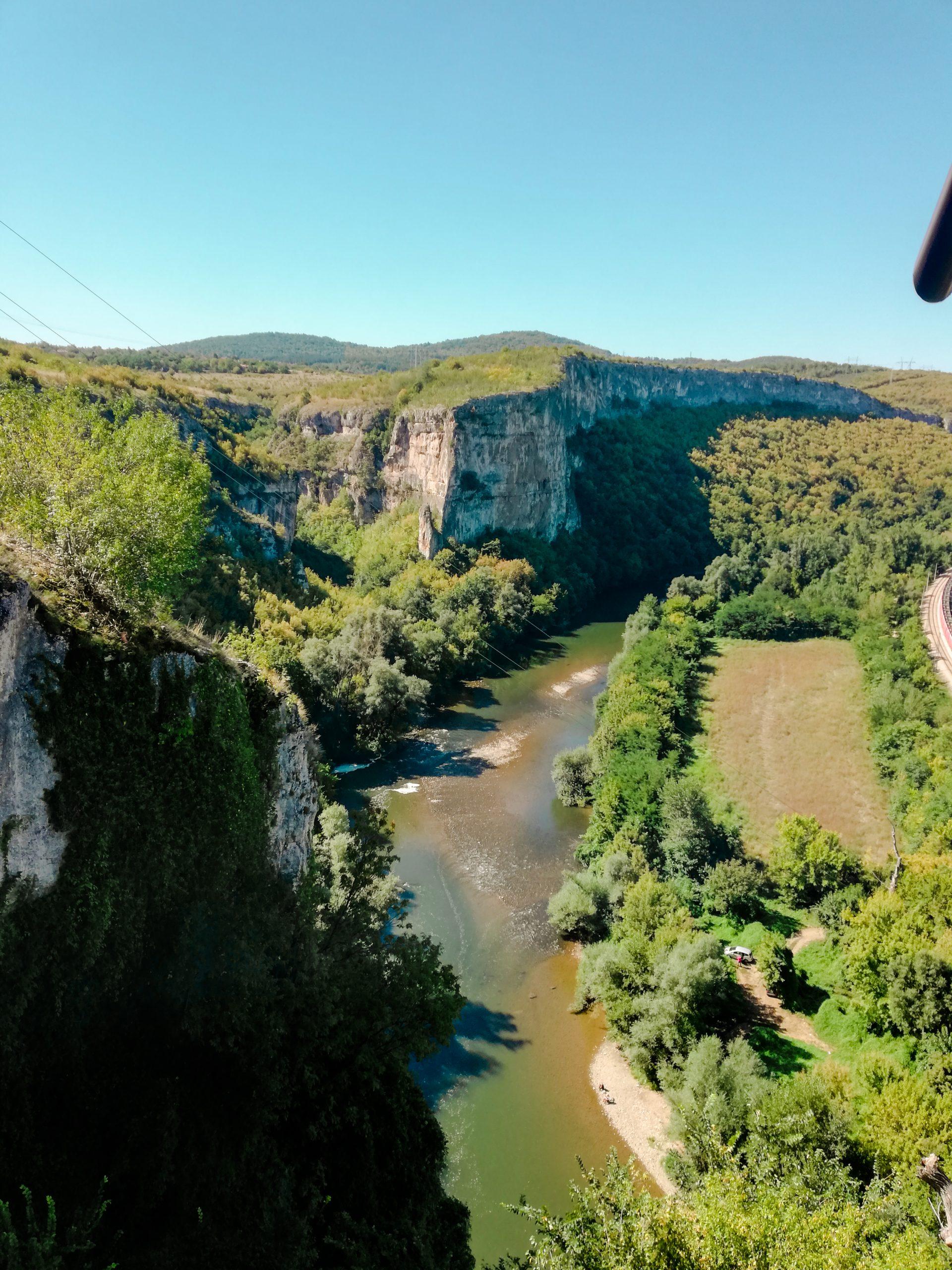 Изглед от Националния Пещерен дом