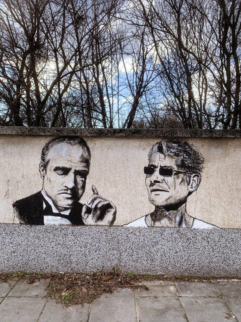 графити в село Старо Железаре