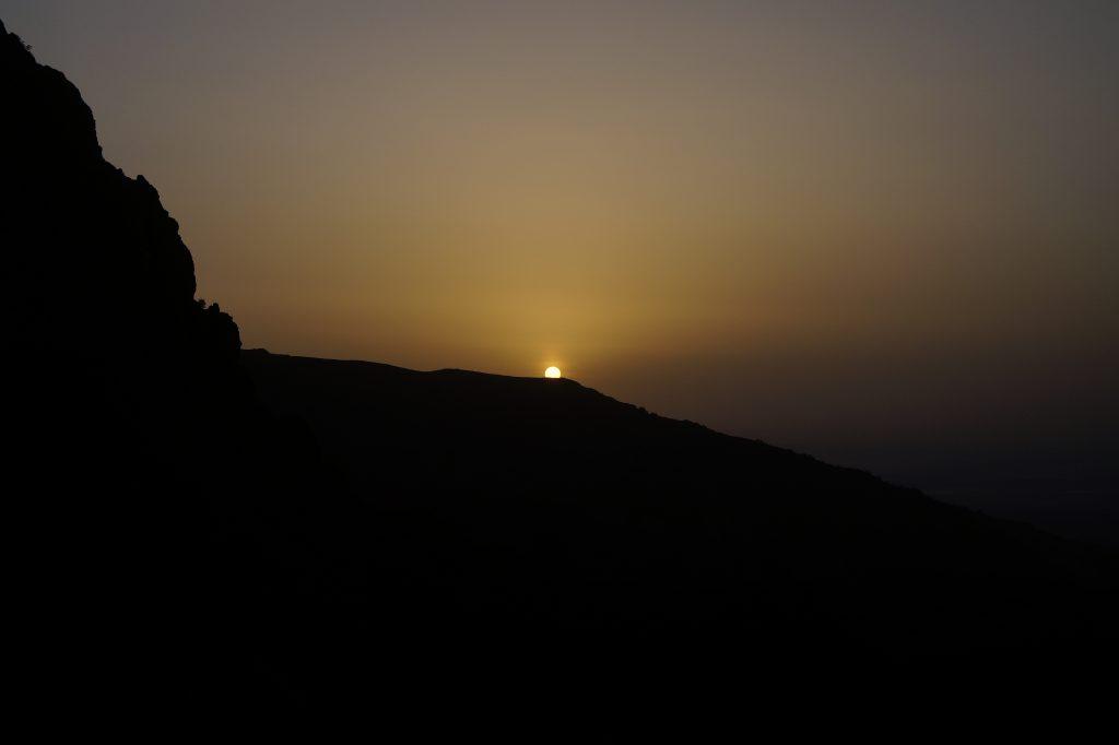 Изгрев, по пътя за връх Ботев, Стара планина