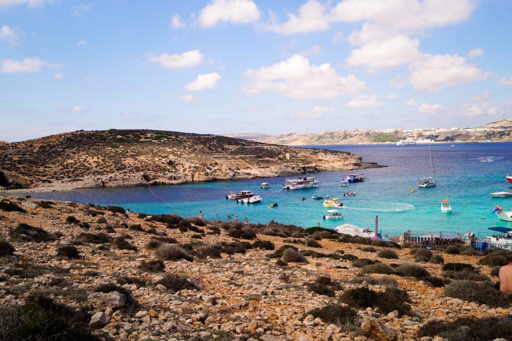 Синята лагуна, Комино, Малта