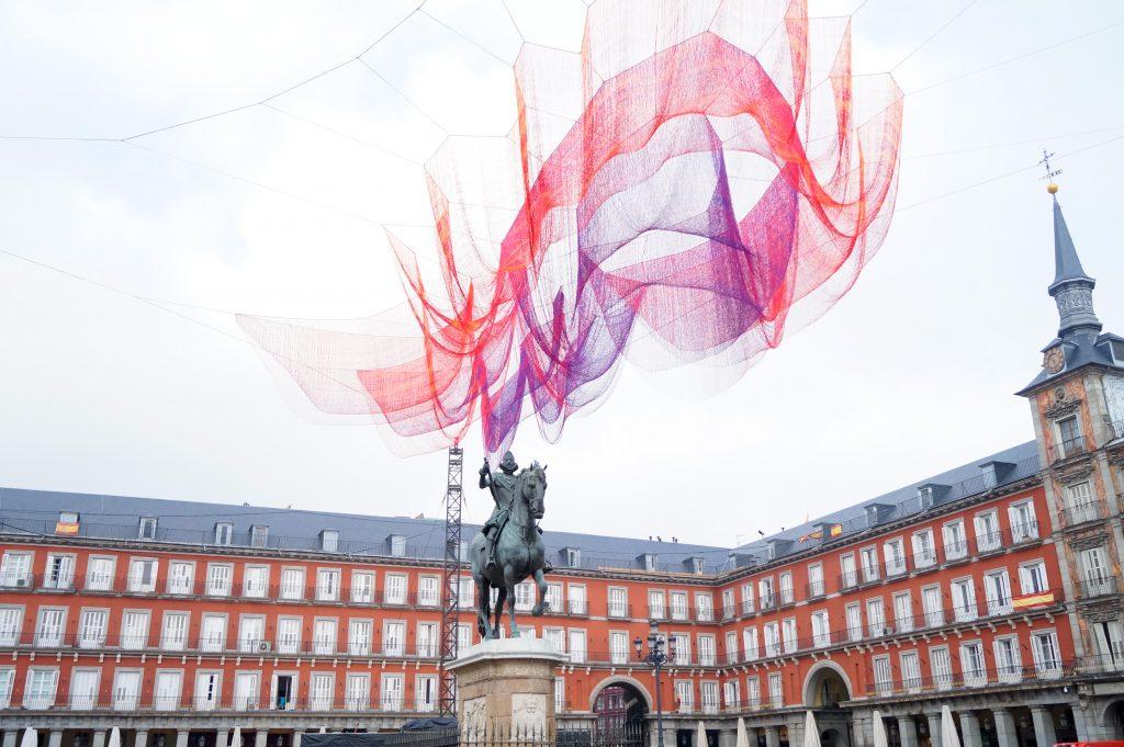 Мадрид, Испания. Романтични места в Европа