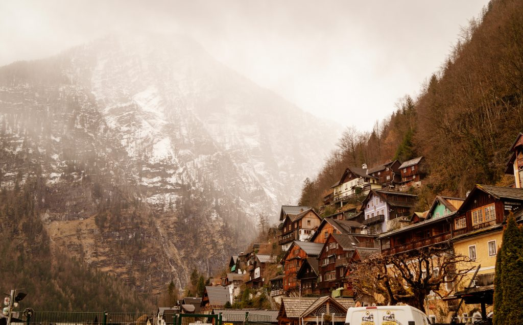 Халщат, Австрия. Романтични места в Европа