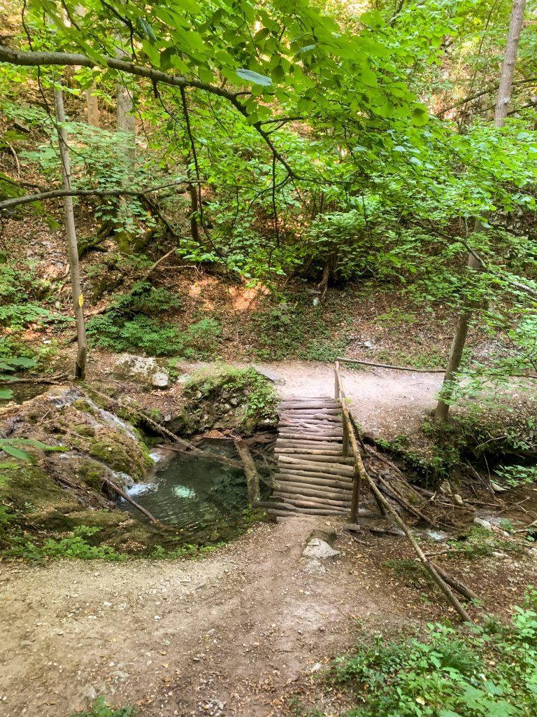 пътеката към Сливодолското падало